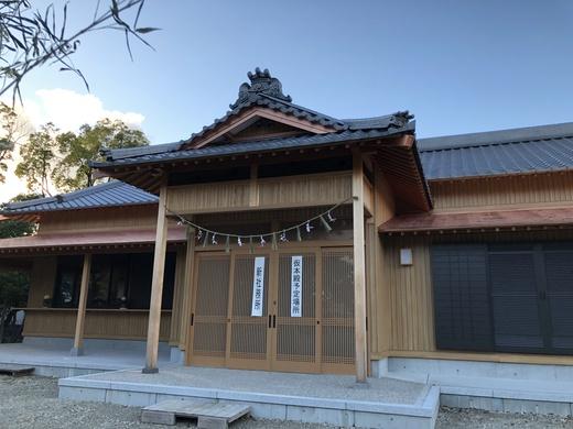 初めて神社がお客様に 安城八幡社